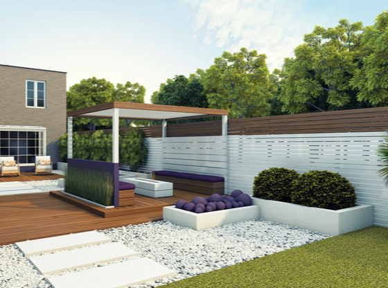 A Relaxing Oasis in Your Own Back Garden- White Landscapes