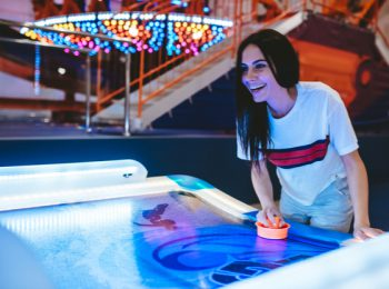 Entertain Visitors Effortlessly With An Air Hockey Table - SDB Amusements